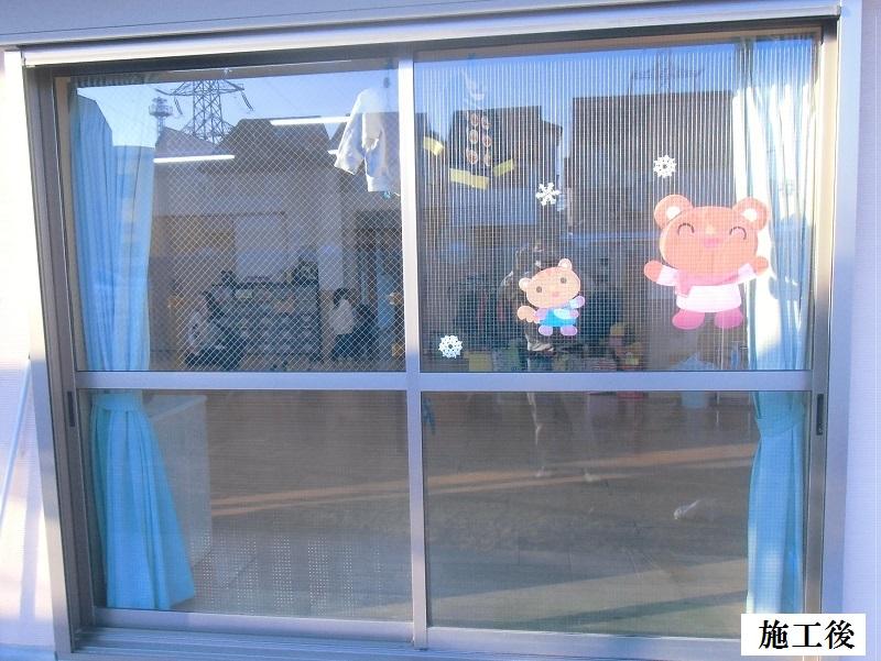 伊丹市 保育園 ガラス割替工事イメージ01