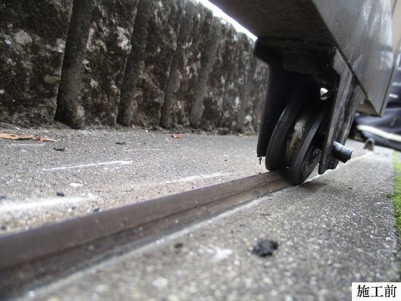 西宮市 マンション 駐輪場引き戸修繕工事イメージ02