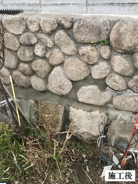 宝塚市 石垣補修工事イメージ01