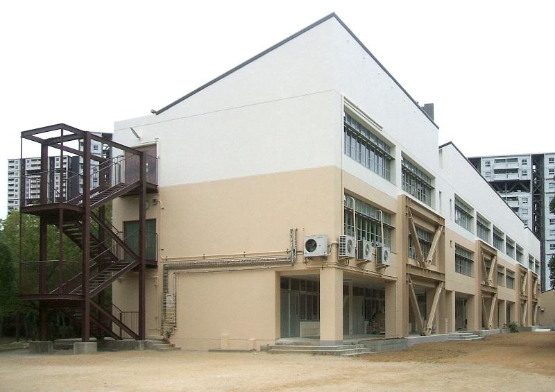 芦屋市 学校施設耐震補強工事イメージ01