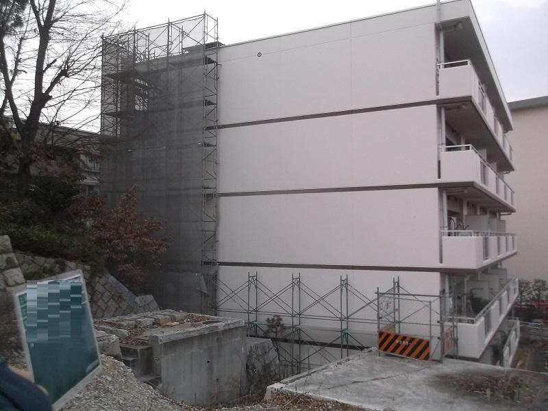 芦屋市 住宅外壁改修工事イメージ04
