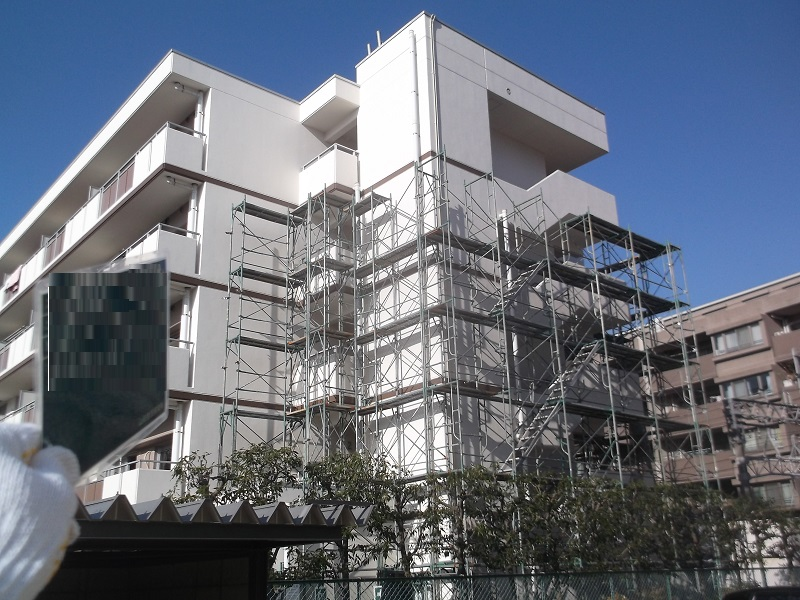 芦屋市 住宅外壁改修工事イメージ02
