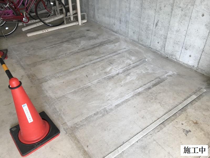 宝塚市 マンション 駐輪場改修工事イメージ06