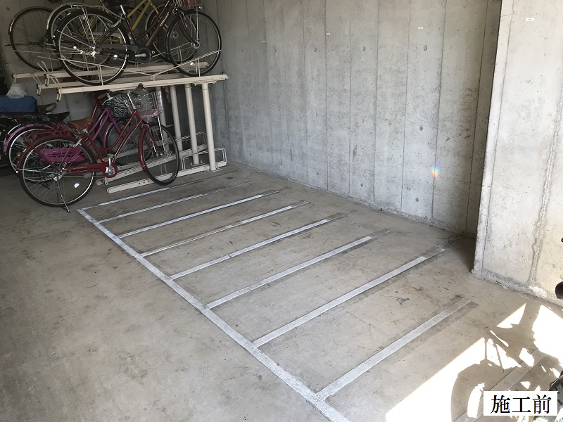 宝塚市 マンション 駐輪場改修工事イメージ02
