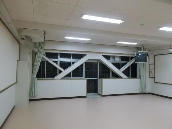 宝塚市 小学校耐震補強工事イメージ01