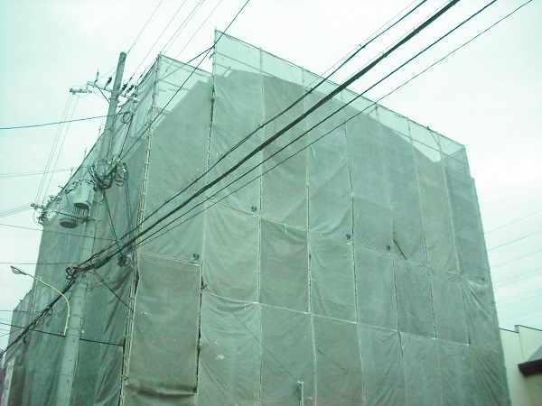 尼崎市 マンション外壁改修工事イメージ01