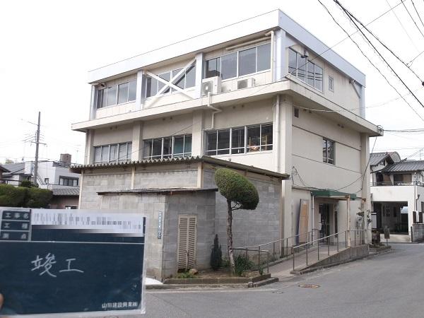 宝塚市 公共施設耐震補強工事イメージ01