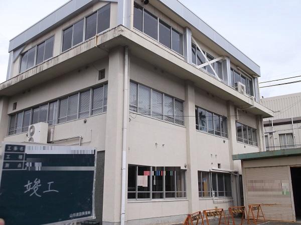 宝塚市 公共施設耐震補強工事イメージ02