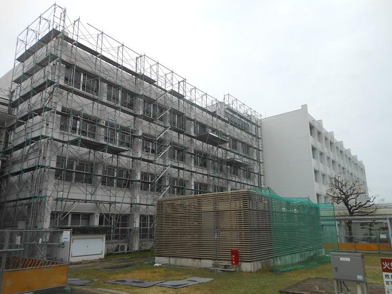 芦屋市内 学校施設耐震補強工事イメージ02