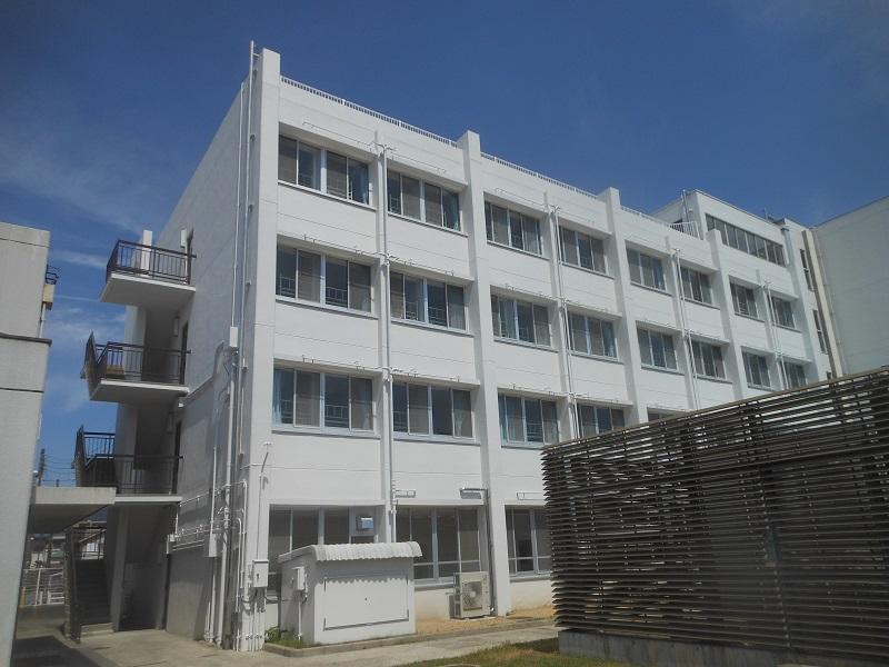 芦屋市内 学校施設耐震補強工事イメージ09