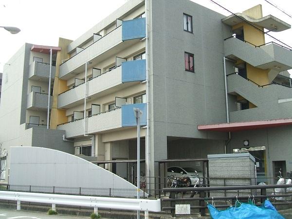 宝塚市 マンション外壁改修工事イメージ01
