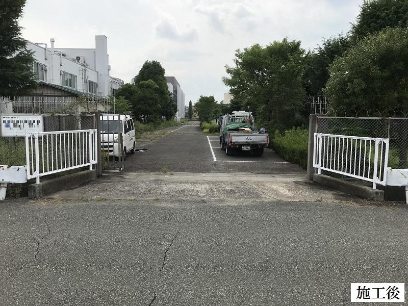 尼崎市 施設 転落防止柵設置工事イメージ01