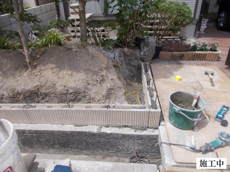 西宮市 ブロック塀のリフォーム工事イメージ05