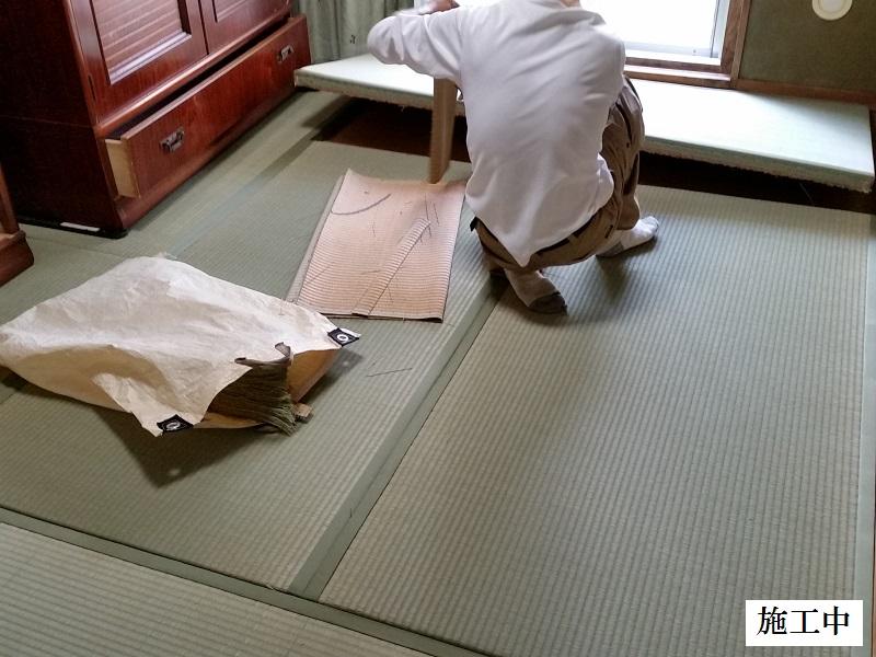 宝塚市 壁クロスの貼り替え・畳の表替え 内装工事イメージ03