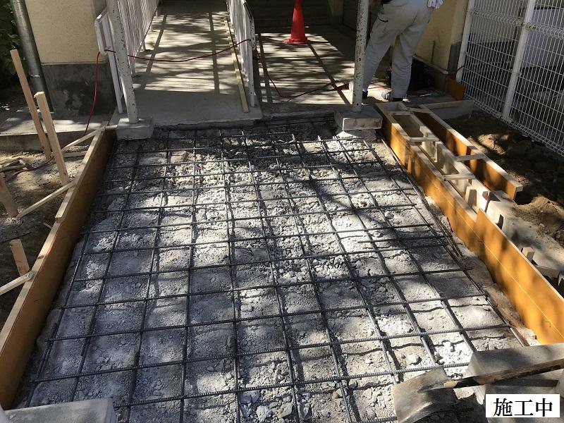 宝塚市 市立中学校 渡り廊下土間修繕イメージ05