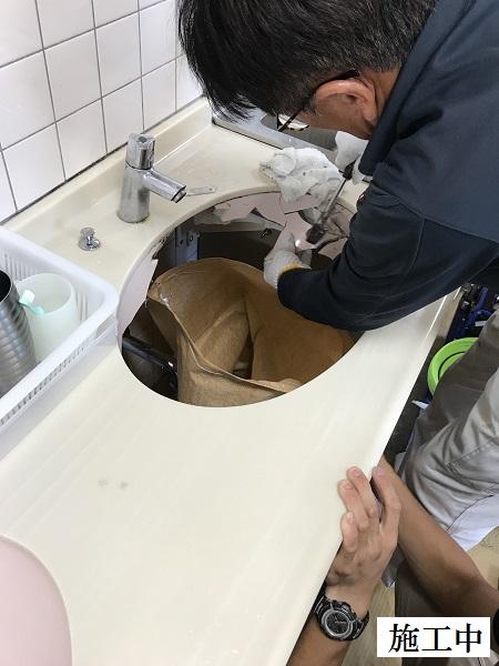 宝塚市 施設 手洗器・水栓金具修繕工事イメージ04