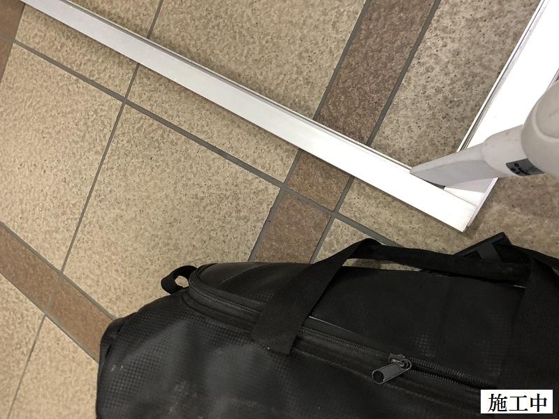 尼崎市 マンション集会室 網戸張替工事イメージ05