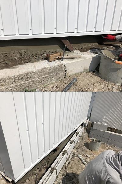 伊丹市 ブロック塀撤去・フェンス新設工事イメージ07