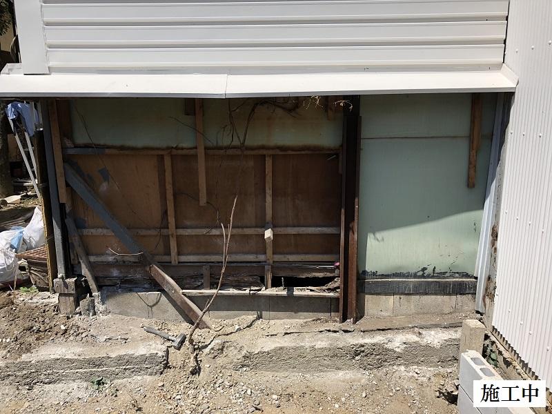 伊丹市 ブロック塀撤去・フェンス新設工事イメージ04