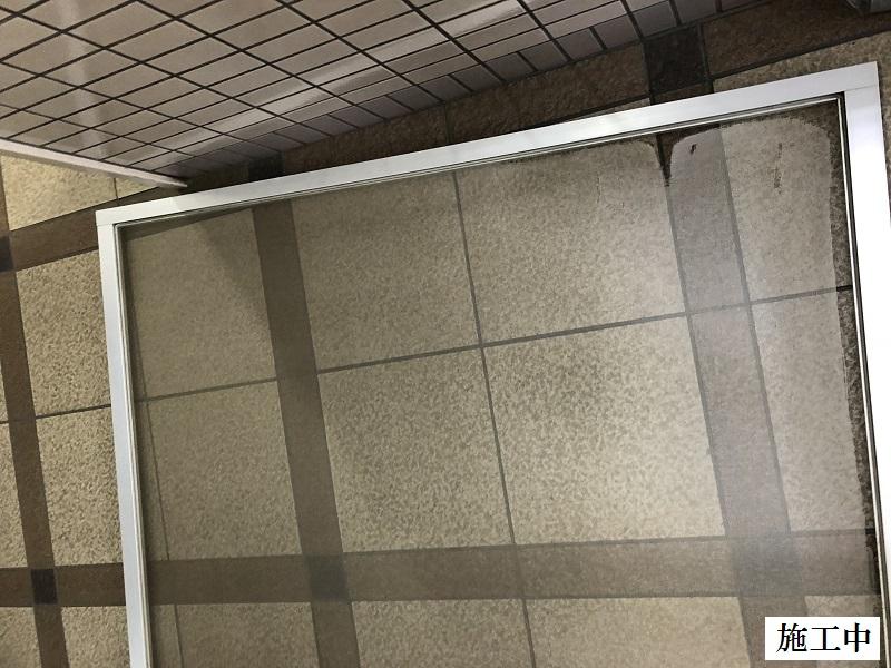 尼崎市 マンション集会室 網戸張替工事イメージ03