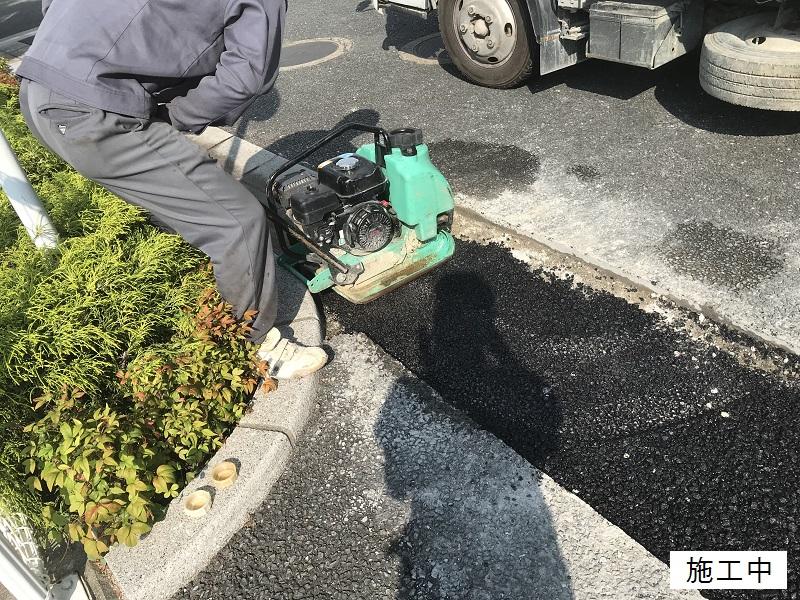 尼崎市 マンション 駐車場舗装工事イメージ07