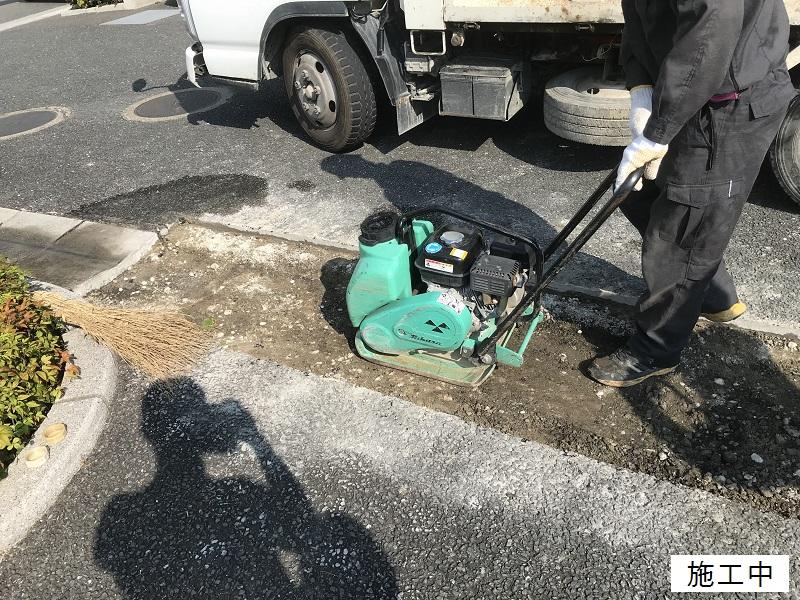 尼崎市 マンション 駐車場舗装工事イメージ06