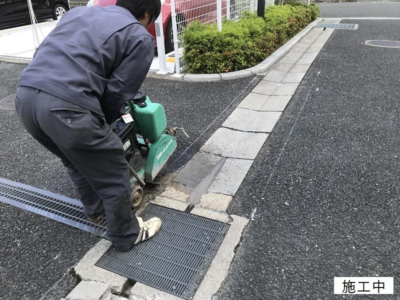 尼崎市 マンション 駐車場舗装工事イメージ03