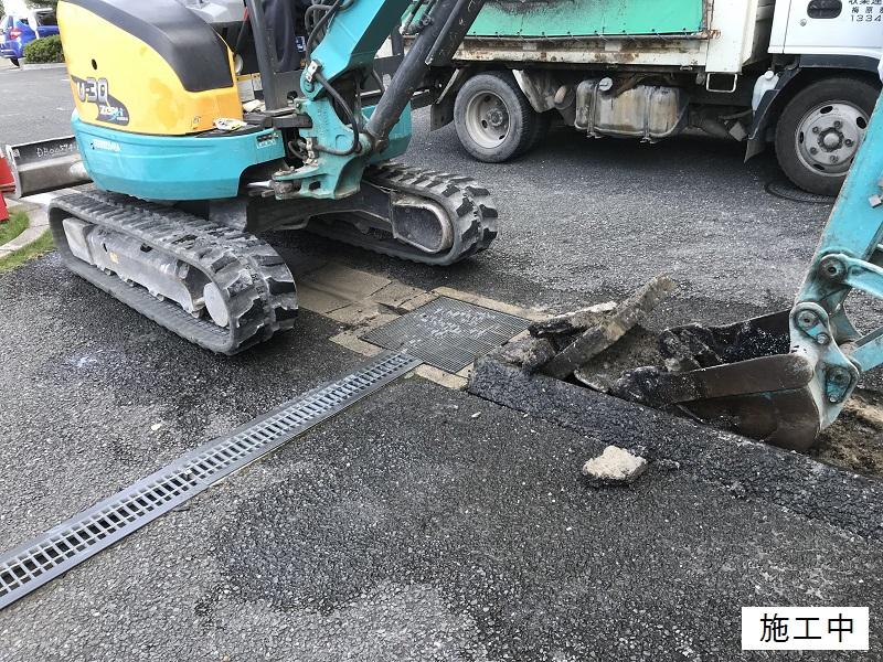 尼崎市 マンション 駐車場舗装工事イメージ05