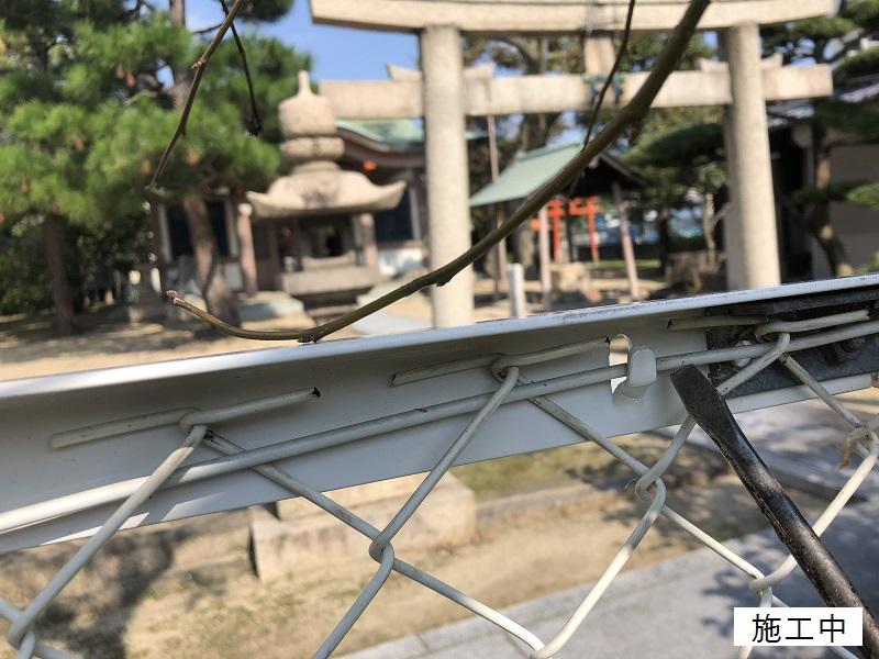 尼崎市 公園 ネットフェンス修繕工事イメージ06