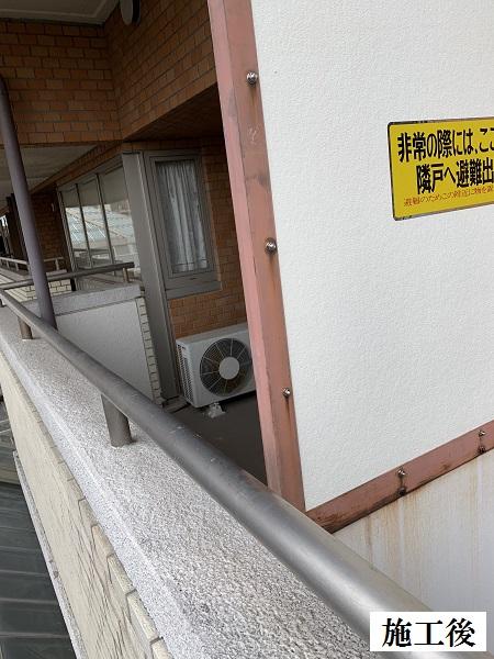 宝塚市 マンション ベランダ隔て板取替修繕工事イメージ02
