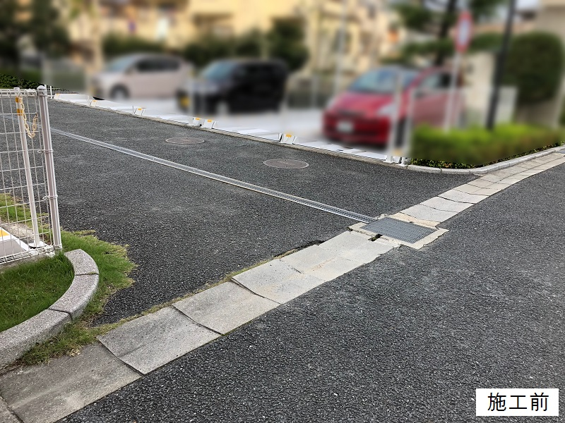 尼崎市 マンション 駐車場舗装工事イメージ02