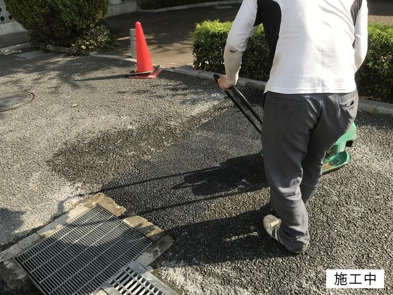 尼崎市 マンション 駐車場舗装工事イメージ08