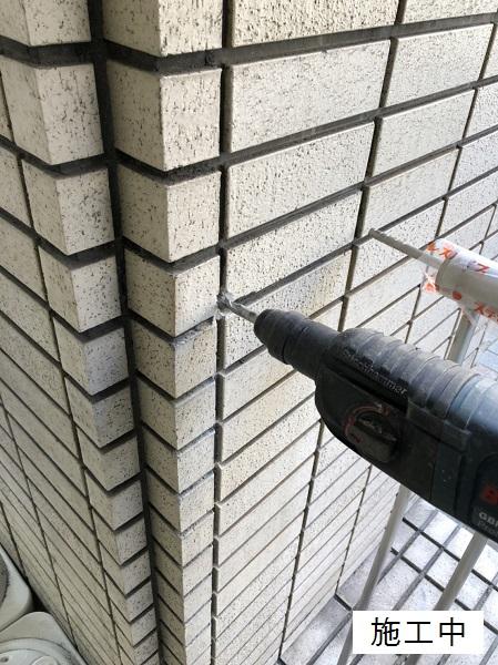 宝塚市 商業施設 スペース確保ステンレス手摺設置工事イメージ06