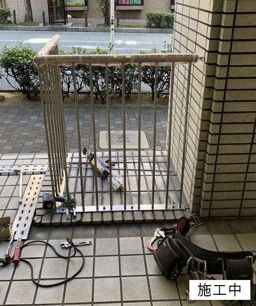 宝塚市 商業施設 スペース確保ステンレス手摺設置工事イメージ07