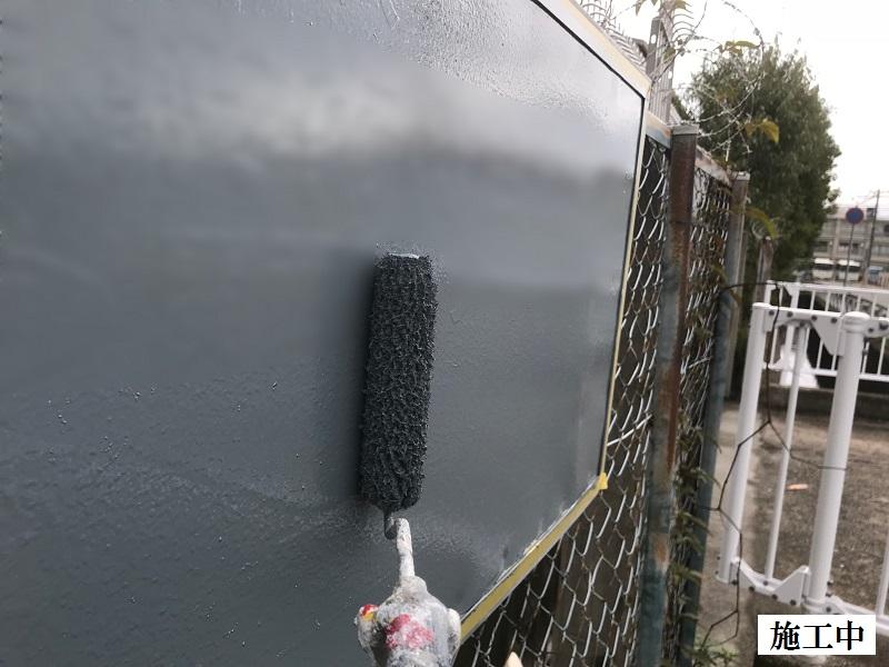 尼崎市 施設 看板目隠し工事イメージ07