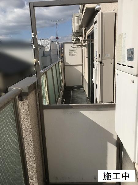 尼崎市 マンション 隔て板修繕工事イメージ03