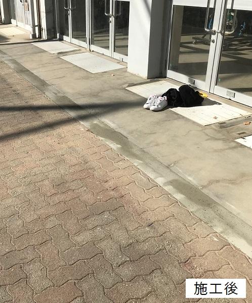 宝塚市 市立小学校 玄関前段差修繕イメージ01