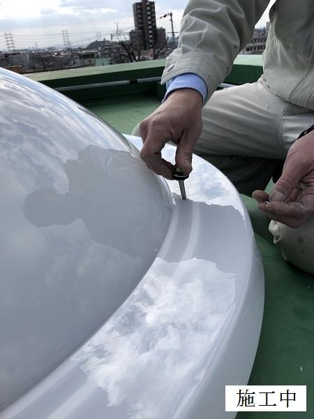 宝塚市 公共施設 ポリカドーム取替修繕イメージ09