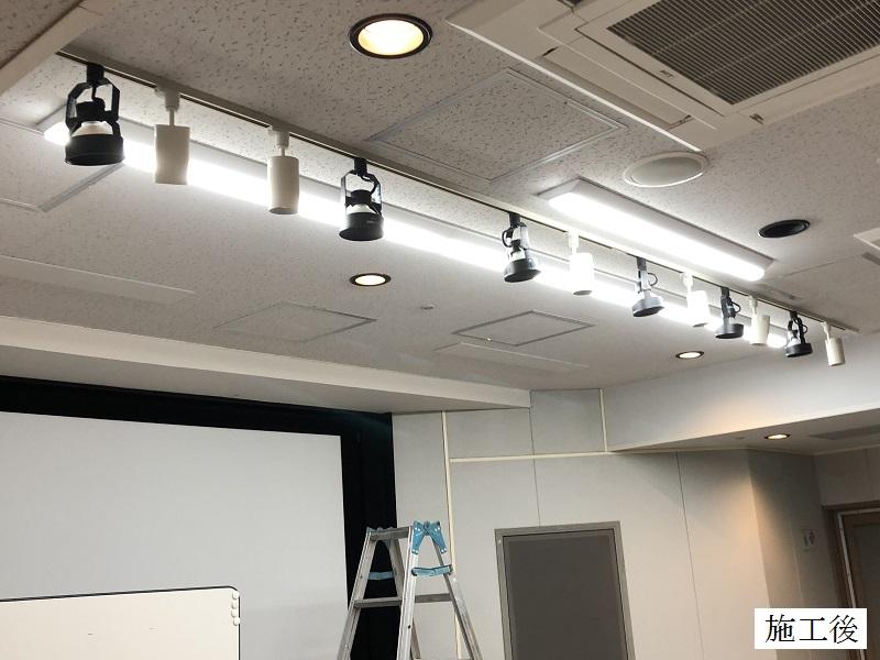 宝塚市 公共施設 LED照明増設工事イメージ02