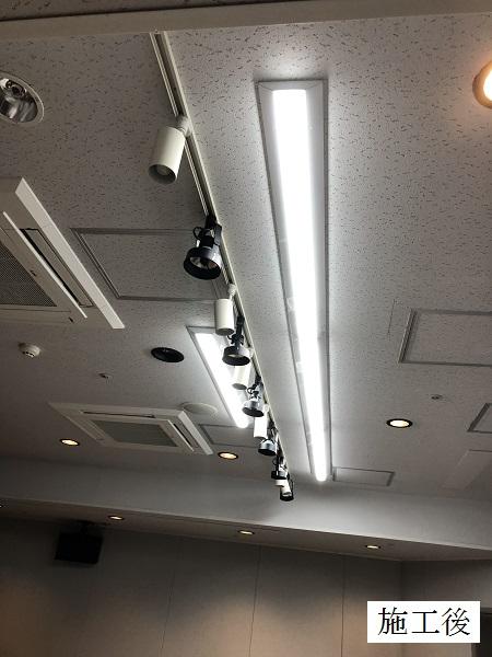 宝塚市 公共施設 LED照明増設工事イメージ01