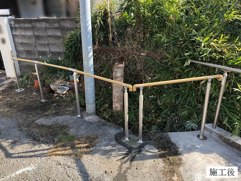 宝塚市 屋外手すり設置工事イメージ01