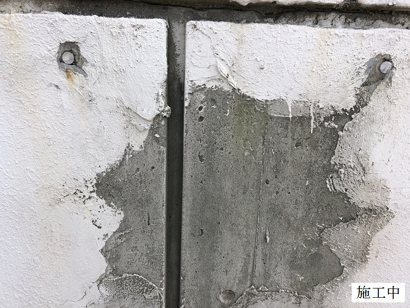 某市 屋外看板撤去工事イメージ05