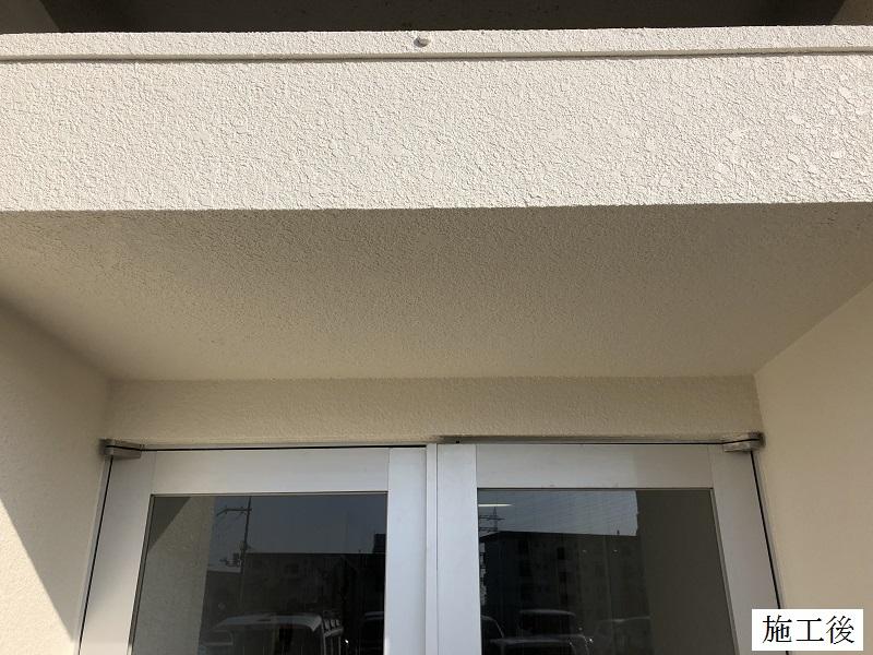 宝塚市 公共施設 玄関庇修繕イメージ02
