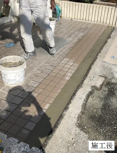 宝塚市 公共施設 玄関タイル修繕イメージ01
