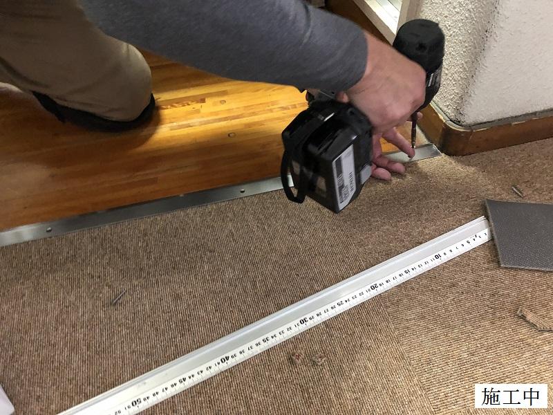 宝塚市 保育園 玄関・職員室 床修繕イメージ08
