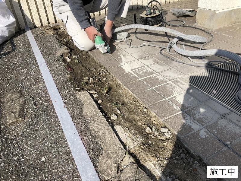 宝塚市 公共施設 玄関タイル修繕イメージ03