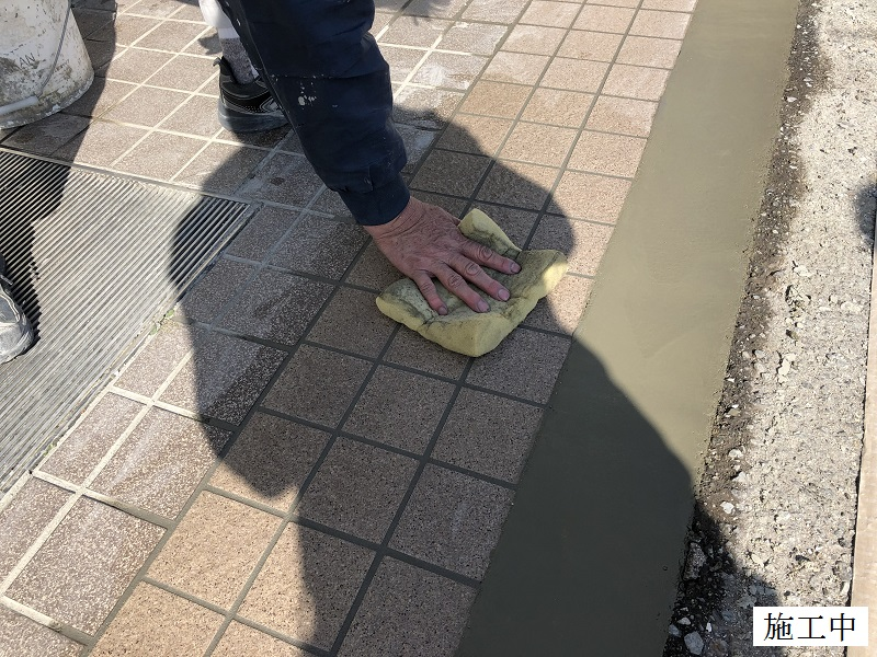 宝塚市 公共施設 玄関タイル修繕イメージ09