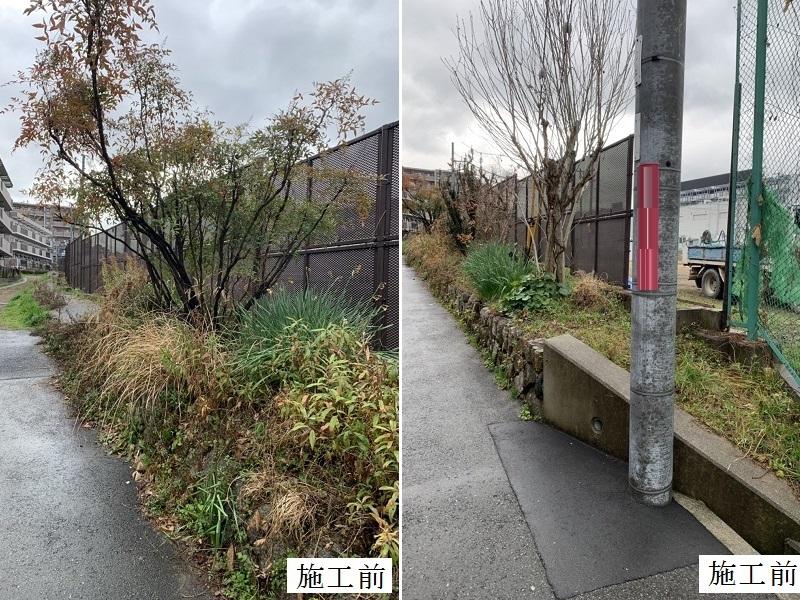 池田市 施設 敷地境界 石積み補修工事イメージ02