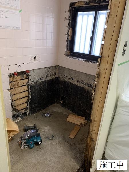 尼崎市 個人邸 浴室改装工事イメージ03