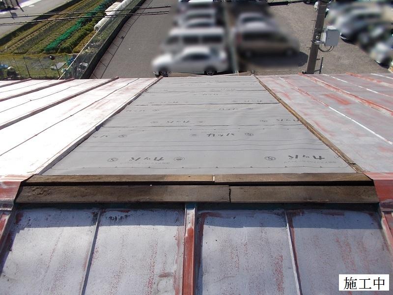 伊丹市 工場 災害復旧屋根・窓ガラス修繕イメージ06